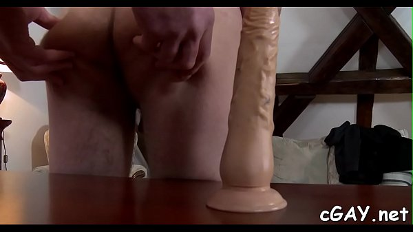 Gay spanking, Anal young