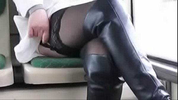 Boots, Flashing, Stock, Stockings mom, Boots mom