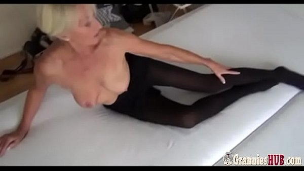 German, Granny masturbation