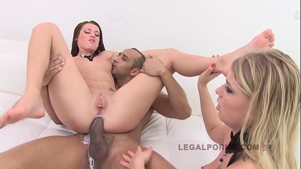 Interracial anal, Lucy, Filled, Anal interracial