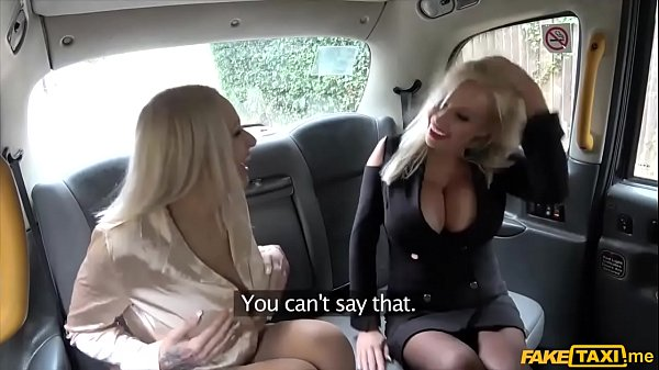 Taxi, Threesome, Huge busty