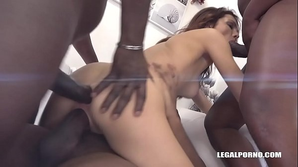 Double, Double anal, Interracial anal, Anal interracial