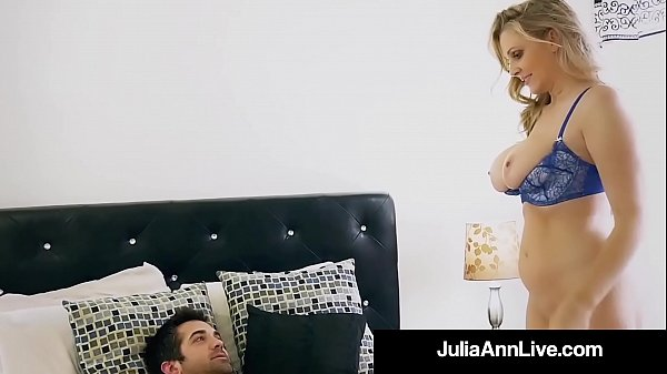 Julia ann, Step son, Julia ann mom, Step mom son, Mom julia